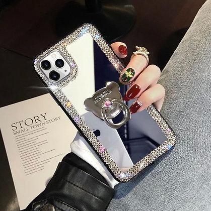 Glitter Bling Rhinestone Holder Stand Case Cover for iPhone 11