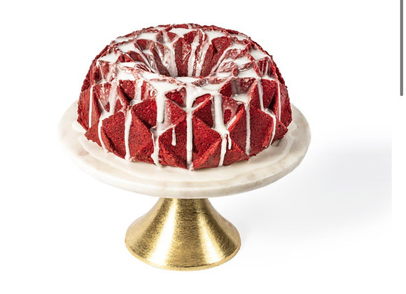 CAROLINA POUND CAKE COMPANY  Red Velvet Cream Cheese Pound Cake