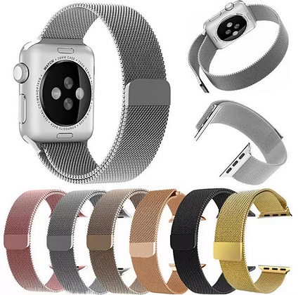 Stainless Steel Metal Band Replacement For Apple iWatch Series 4 40/44mm