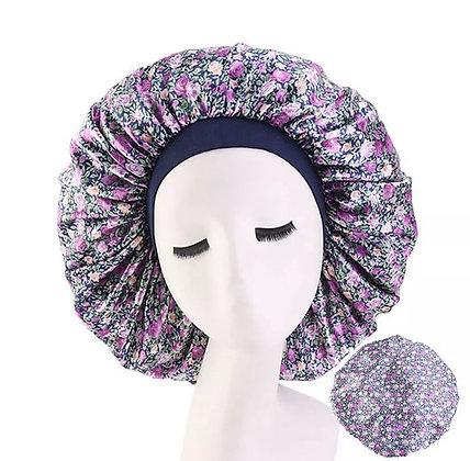 US Extra Large Long Hair Care Satin Bonnet Cap Night Sleep Hat