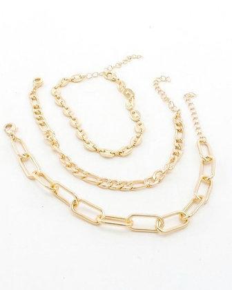 Link Bracelet Set