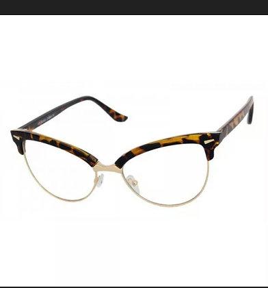 Classic Vintage Retro Cat Eye Style Clear Lens Eye Glasses Fashion Frame NEW