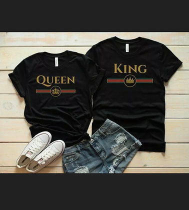 King and Queen Tees