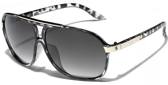 Retro 80s Fashion Aviator Sunglasses Black White Brown Men Women Vintage Glasses