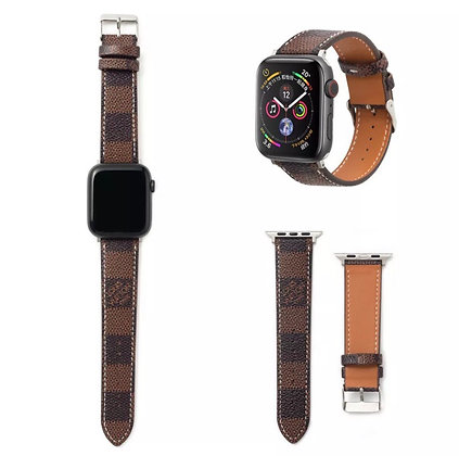 Luxury NEW Leather Wrist Quick Release Strap Band For Apple Watch Series 5/4/3/2