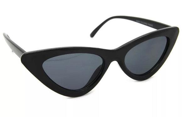 Cat Eye Designer Inspired Retro Sunglasses Women Fashion Plastic Frame Shades