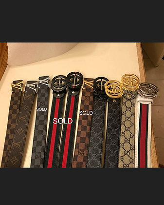"""Belts For Men and Women 42"""" and 44"""" Total Length of the Belt"""
