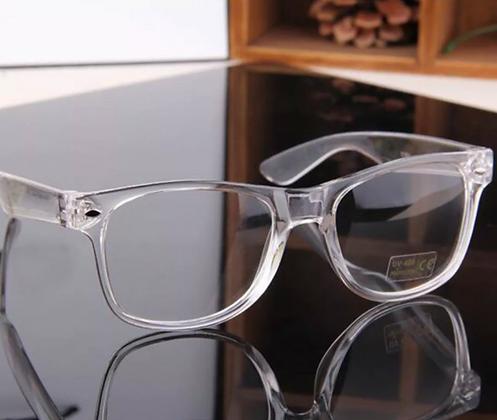 CLEAR LENS TRANSPARENT FRAME Classic Style RETRO Horn Rim EYE GLASSES