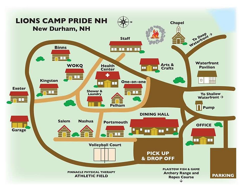Lions Camp Pride property map