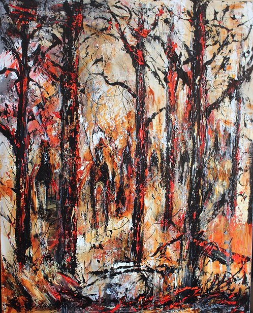 Camouflage 24''x30''