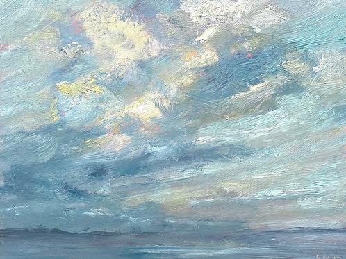 Winter Sunrise Across The Estuary by Sharon Henson