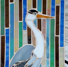 Betsy the heron - SOLD