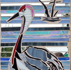 Red Crowned Crane- SOLD
