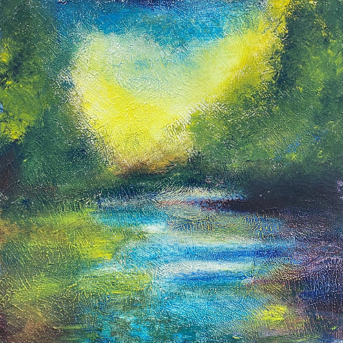 Summer Heat at The River Cesse by Sharon Henson