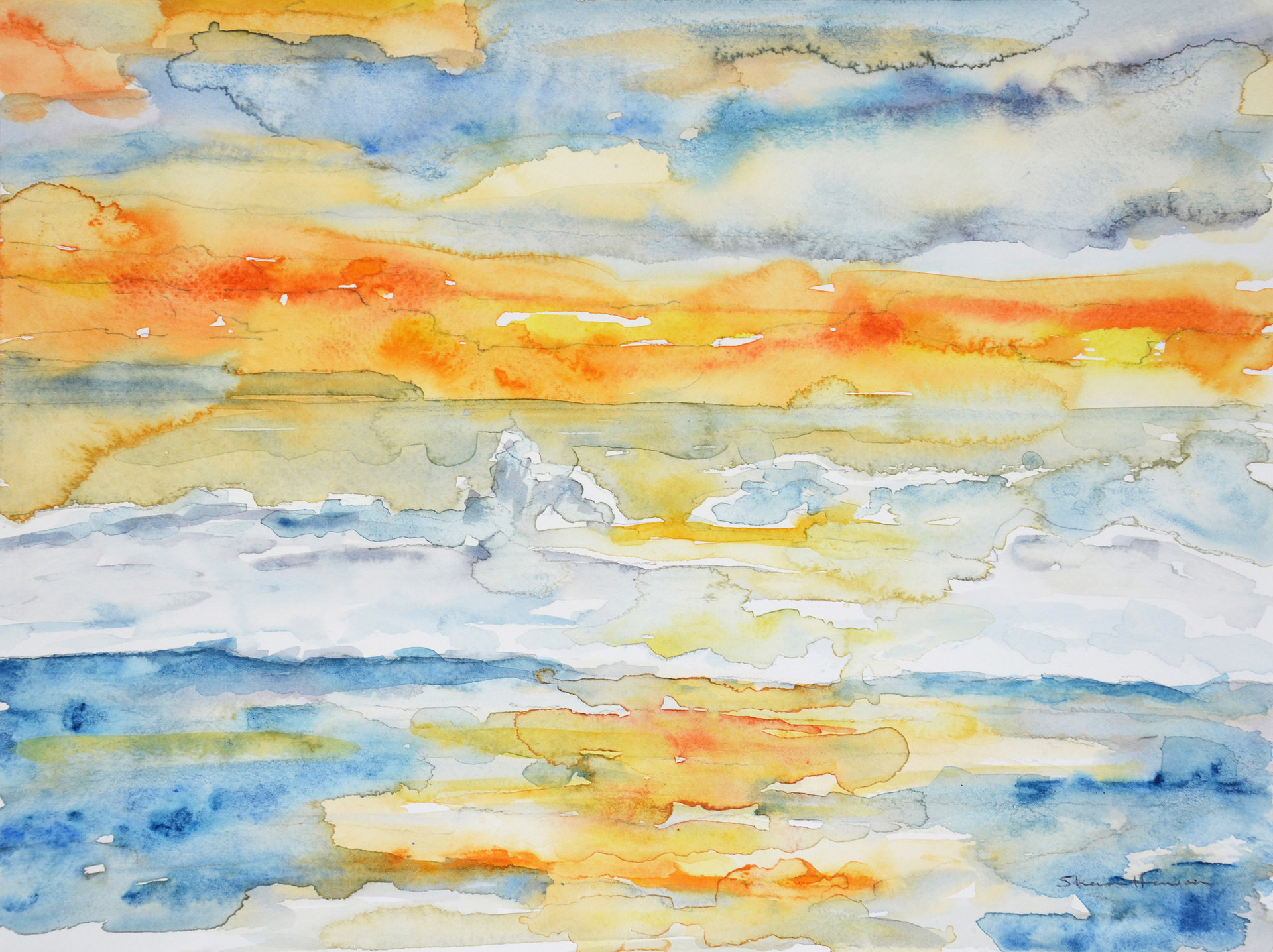 saunton sunset watercolour.jpg