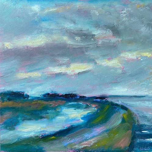 Winter Sunrise Over The Garrison by Sharon Henson