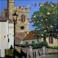 Bunting Bounty IV, Leigh Church