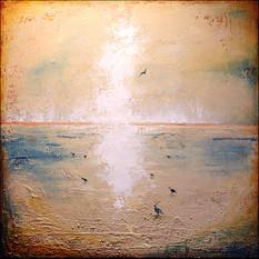 Seabirds At Low Tide II