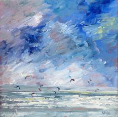 Kite Surfing at Saunton Sands