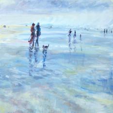 Reflections on Saunton Beach