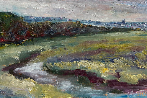 Two Tree Island View to Leigh by Sharon Henson