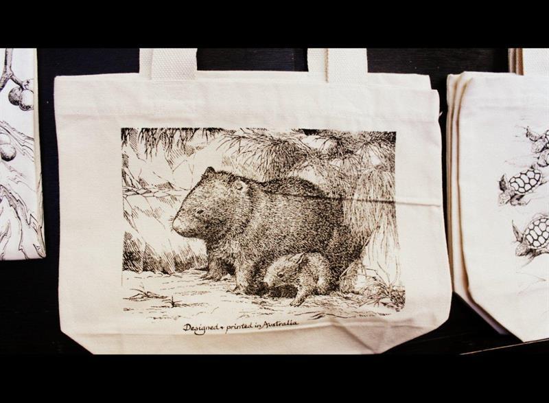 Wombat Tote Bag