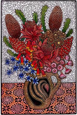 Julie Hanrahan - Native Bouquet