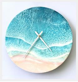 Gone Surfing Clock