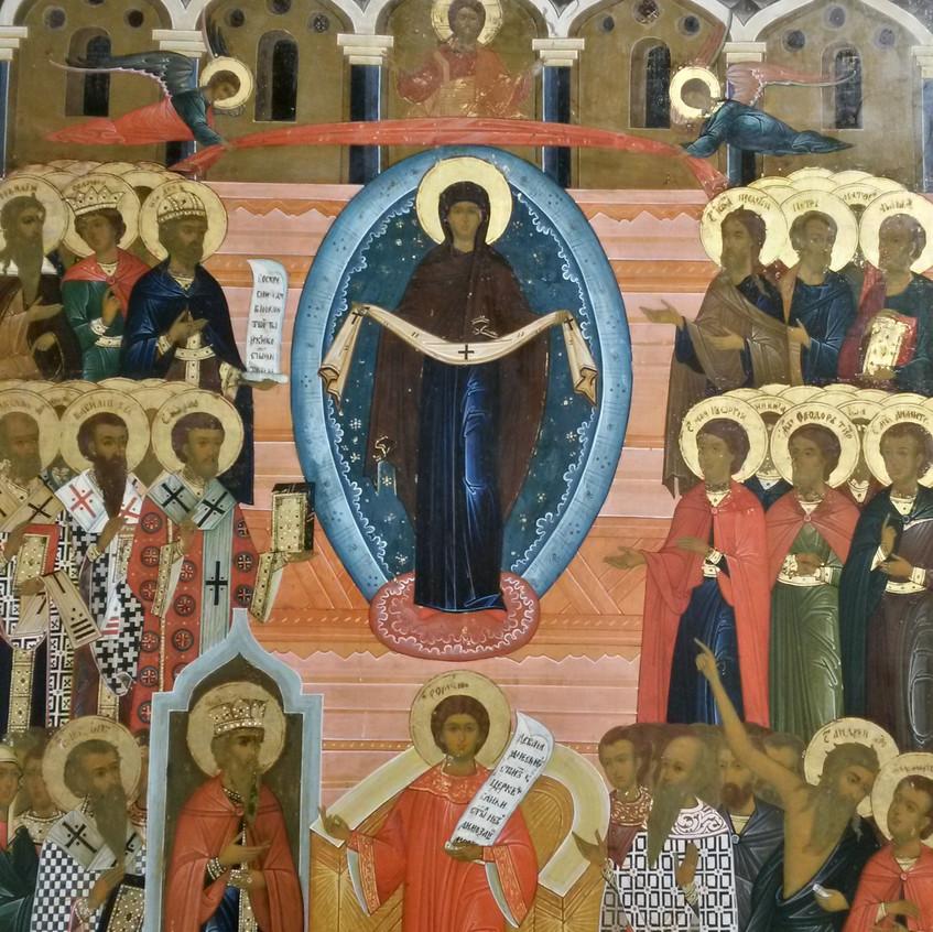 Ветковская икона, Богоматерь с рушником.