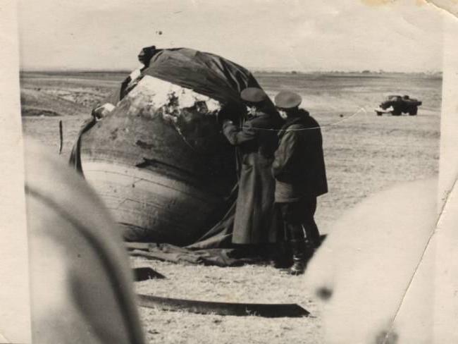 приземление Гагарин