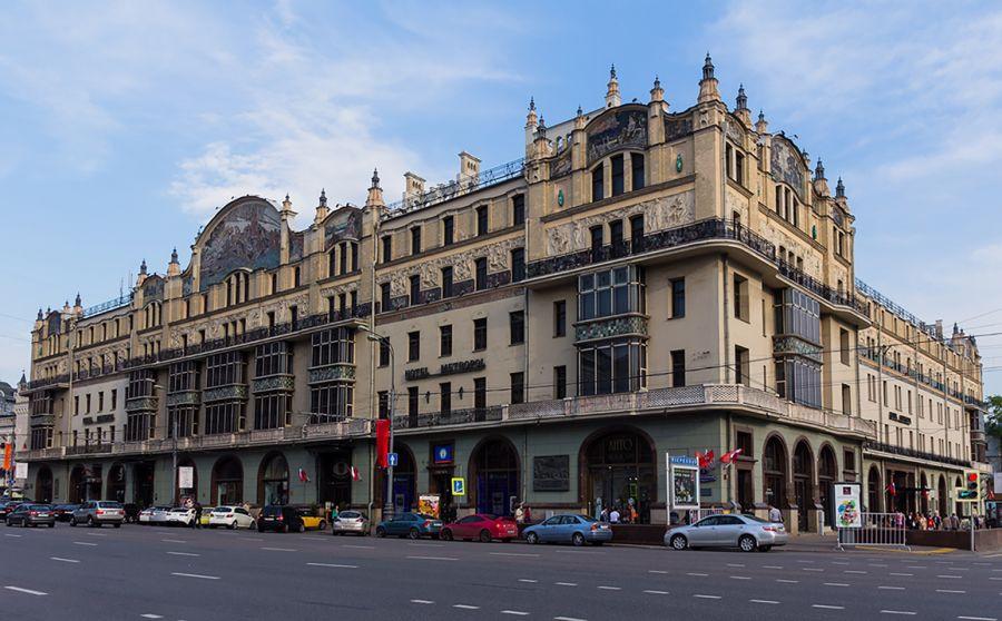 Непревзойденная роскошь- гостиница Метрополь