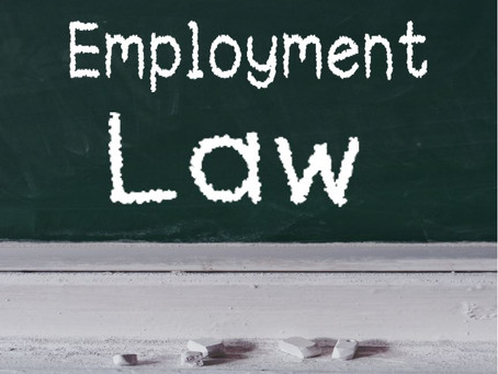 Employment Law - stay up to date