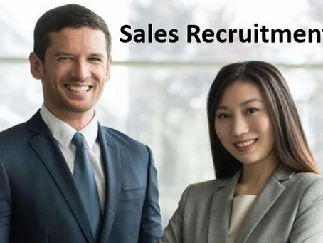 Recruiting experienced sales professionals