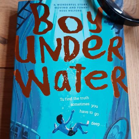 Boy Under Water by Adam Baron