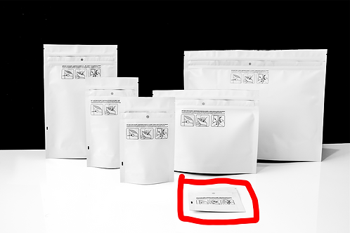 Gram Dymapak Double Zipper Child-Resistant Mylar Bags