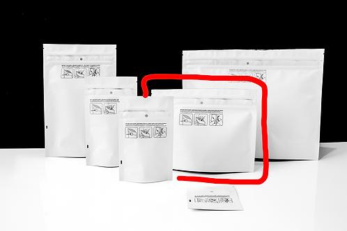 "8"" X 6"" Dymapak Double Zipper Child-Resistant Mylar Bags"