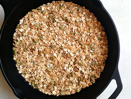Simple Stovetop Granola