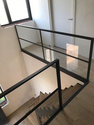 Balustrade met glas Ben | TNW interieur