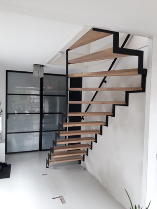 Stalen trap | TNW Interieur