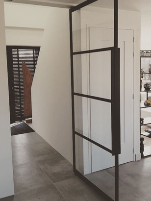 Stalen taatsdeur met glas | TNW Interieur