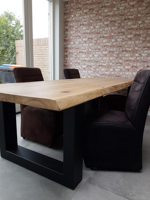 Eiken tafelblad Koen | TNW Interieur
