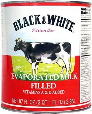 Evapored Milk Can
