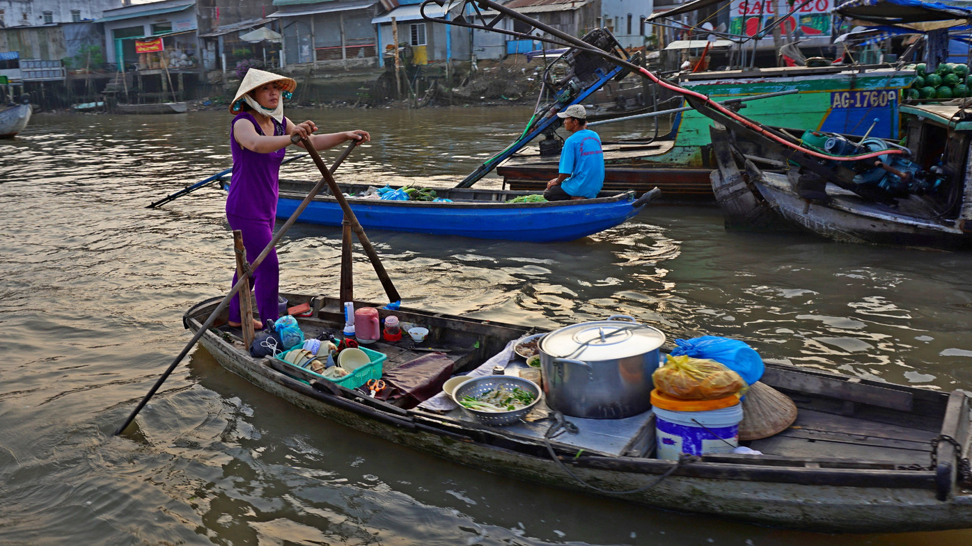 2016 03 16 - Can Tho - Floating Market 4