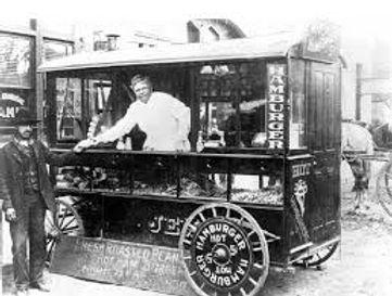Mobile Canteen, History of the Food Trucks, Food Truck, Pushcart, Ice-Cream Trucks, Roach Coaches, USA, Food Revolution, Mobile Dining, Street Food, Cookery, Eatery, Gourmet Food Truck, Kin Taco, Chuck Wagon, Street Vendor, Hamburger, Gene Mc Inturff, Kansas, Hutchinson