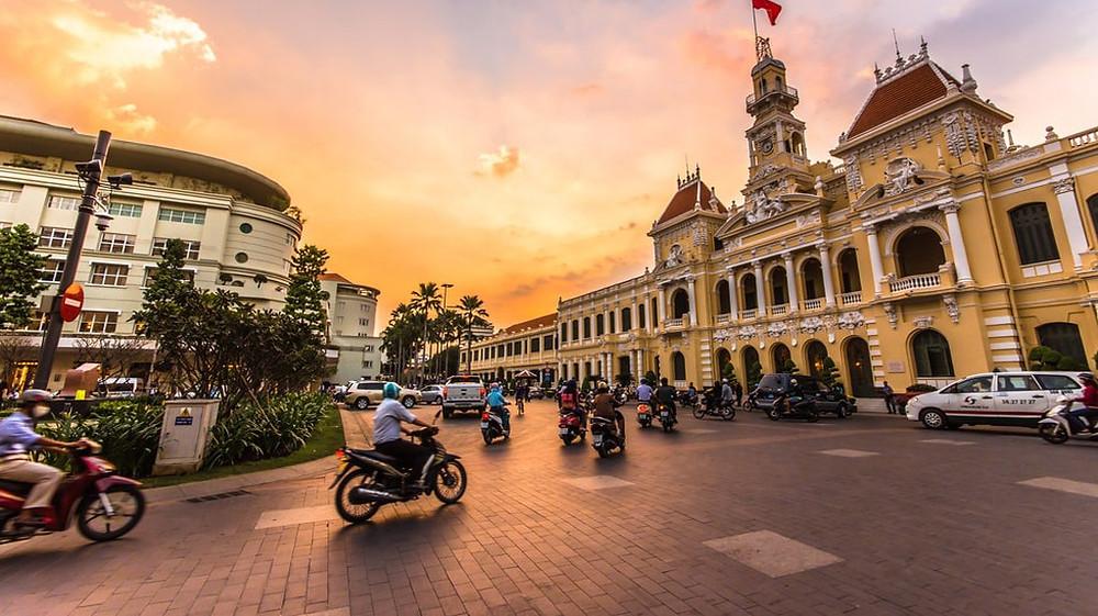 Peoples Committee of Ho Chi Minh City, Saigon, Vietnam