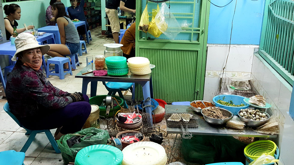 Danang, Street food, food, food stall, saigon, vietnam, pascal laube, cooking, kitchen, asia, travel
