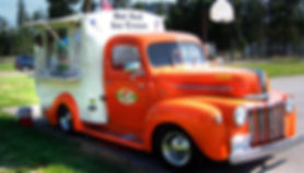 Mobile Canteen, History of the Food Trucks, Food Truck, Pushcart, Ice-Cream Trucks, Roach Coaches, USA, Food Revolution, Mobile Dining, Street Food, Cookery, Eatery, Gourmet Food Truck, King Taco, Chuck Wagon, Hot Rod, Ice Cream, Pick-up, Ford