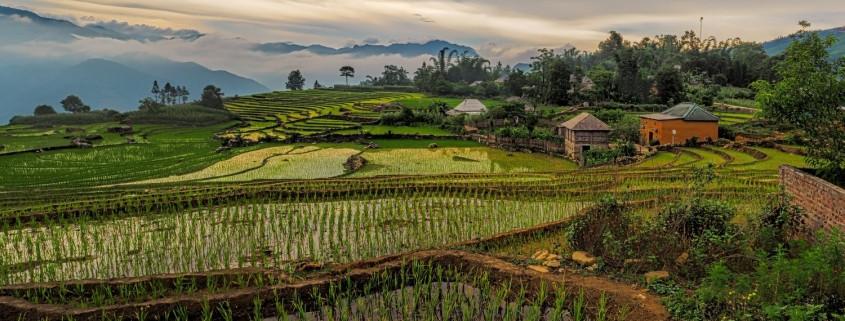 Highlands in North Central Vietnam Area