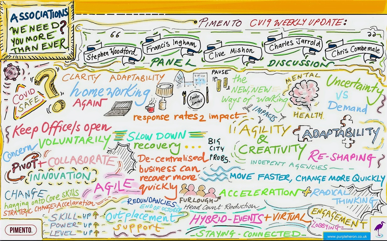 Remote Scribing Graphic Recording