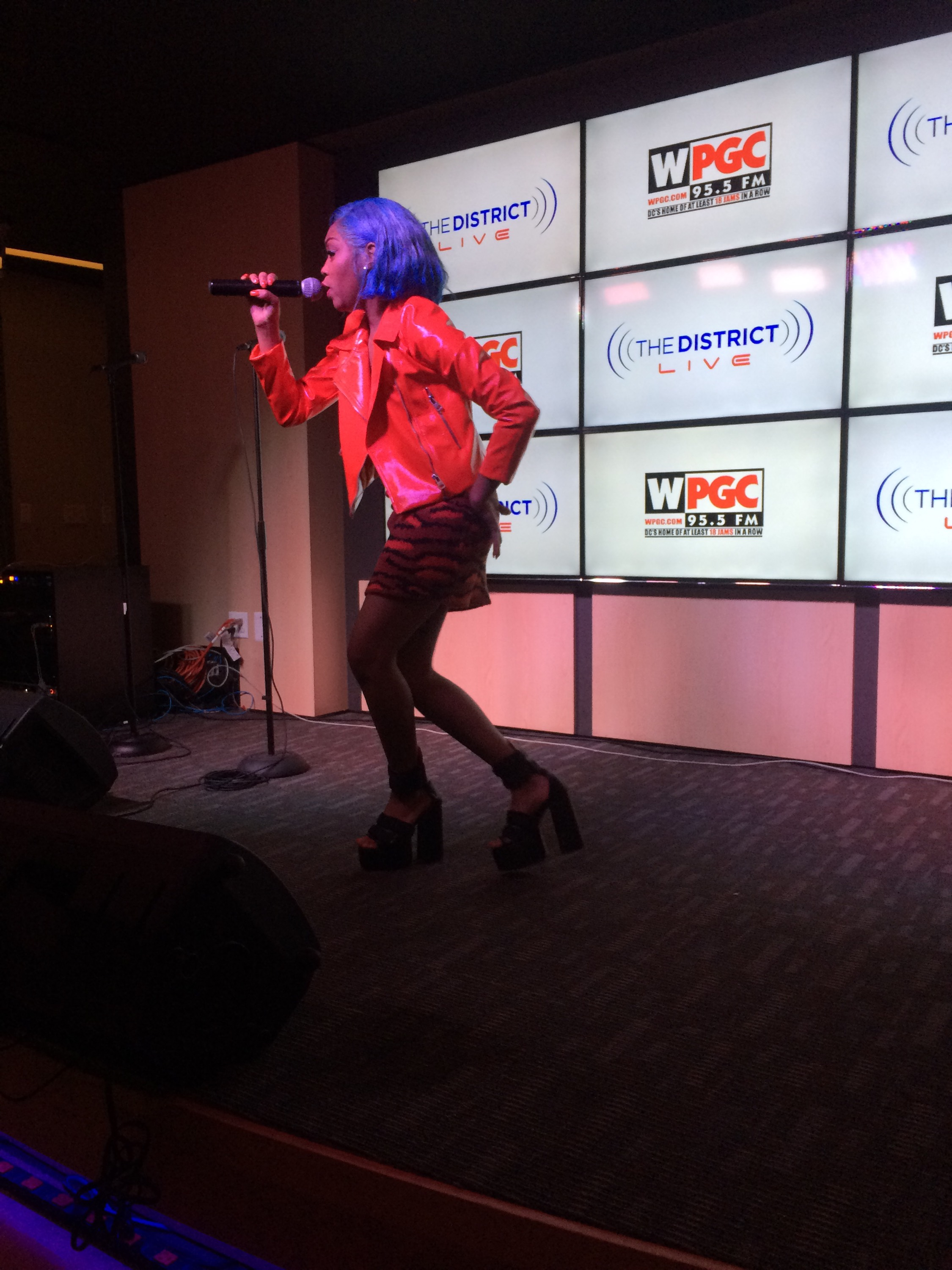 WPGC sound stage performance
